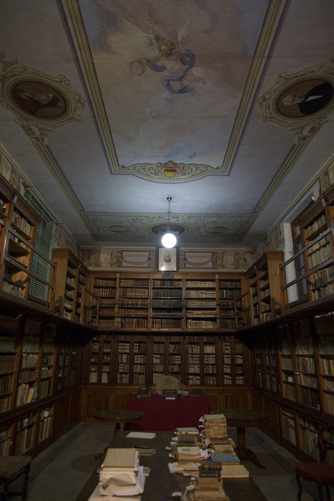 biblioteca antica
